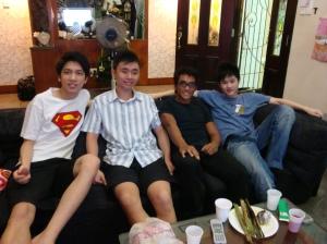 Zhu, Sam, Tar, Han