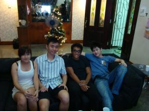 Me, Sam, Tar, Han